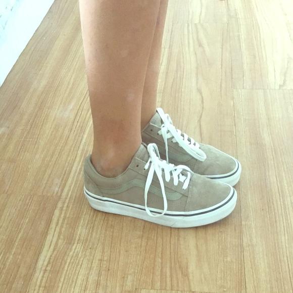 Vans Shoes | Sage Green Old Skool Vans